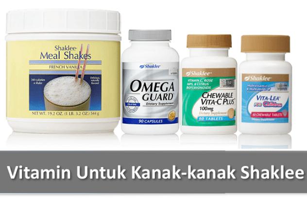Set Vitamin Untuk Kanak-kanak Shaklee