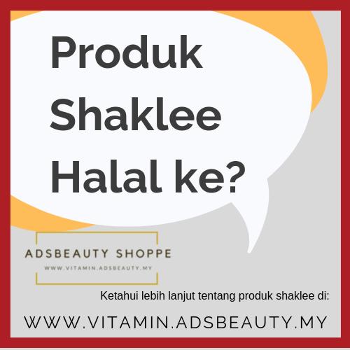 Shaklee Halal Shaklee Status Sijil Halal Shaklee