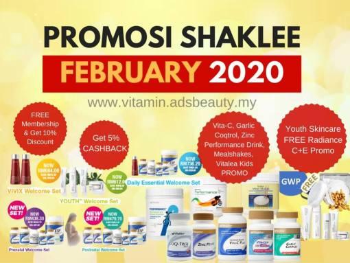 Promosi Shaklee February 2020 Februari 2020 Promo