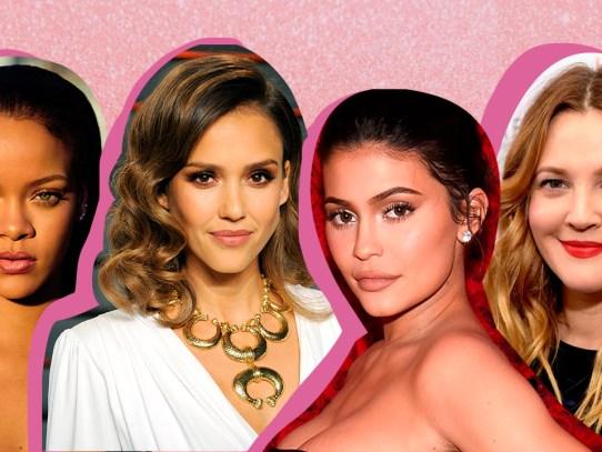 7 celebridades que han lanzado una línea de maquillaje