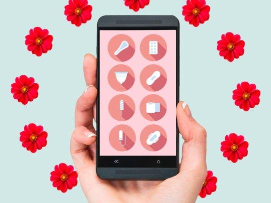 Ciclo menstrual: 5 apps que te harán la vida más sencilla