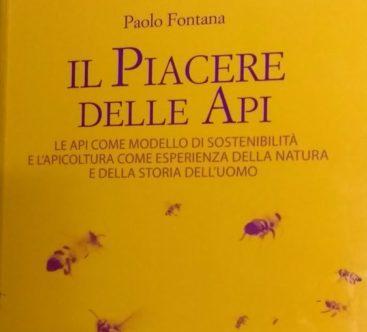 Il piacere delle api - Paolo Fontana copertina