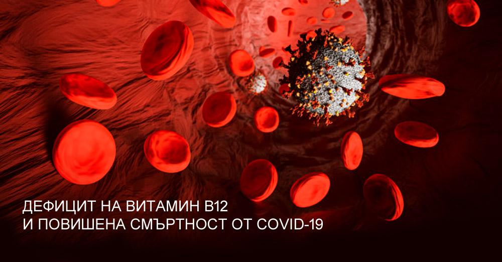 Дефицит на витамин B12 и повишена смъртност от COVID-19