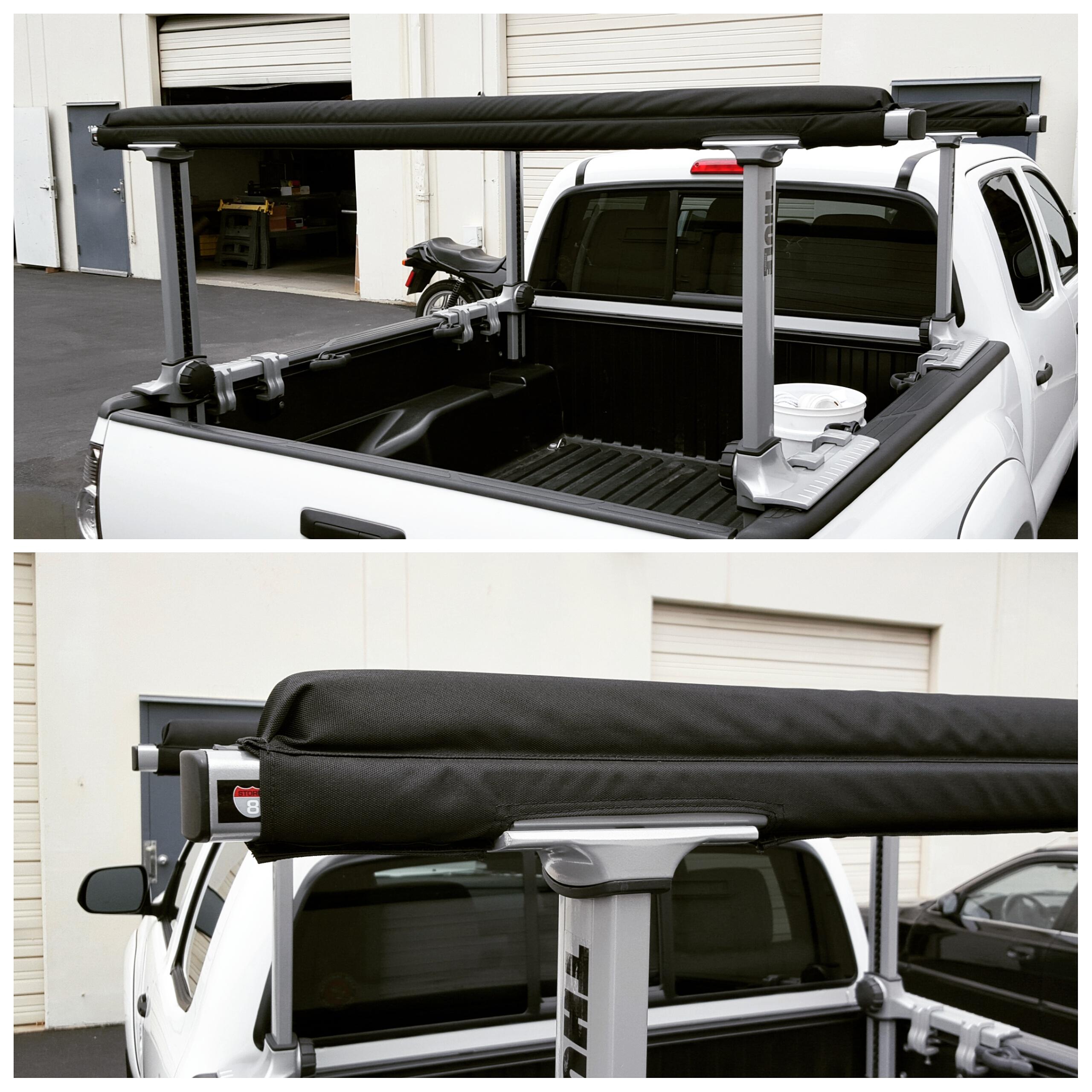 thule xsporter truck rack pads
