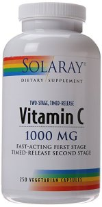 solaray vitamin c supplement vegetarian capsules