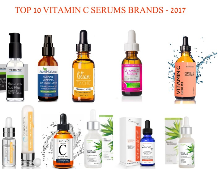 best vitamin c serum - top 10 best c serum