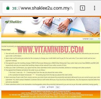 Cara Beli Vivix Shaklee Secara Online Terus Daripada Shaklee HQ9