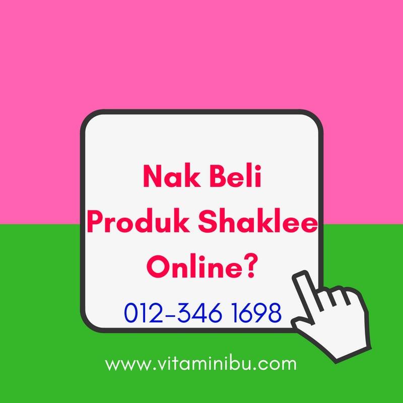 Cara Nak Beli Produk Shaklee Secara Online - Beli Shaklee Online - Beli Produk Shaklee Online