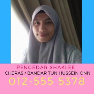Pengedar Shaklee Cheras - Bandar Tun Hussein Onn Dan Alam Damai