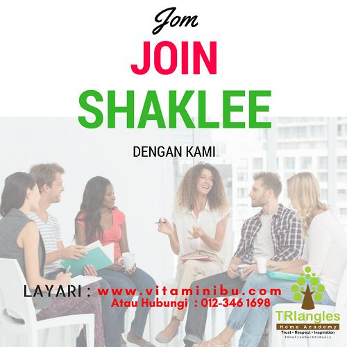 Cara Daftar Jadi Ahli Shaklee -Untuk Jadi Pengedar Shaklee - Agen Shaklee dan buat Bisnes Shaklee