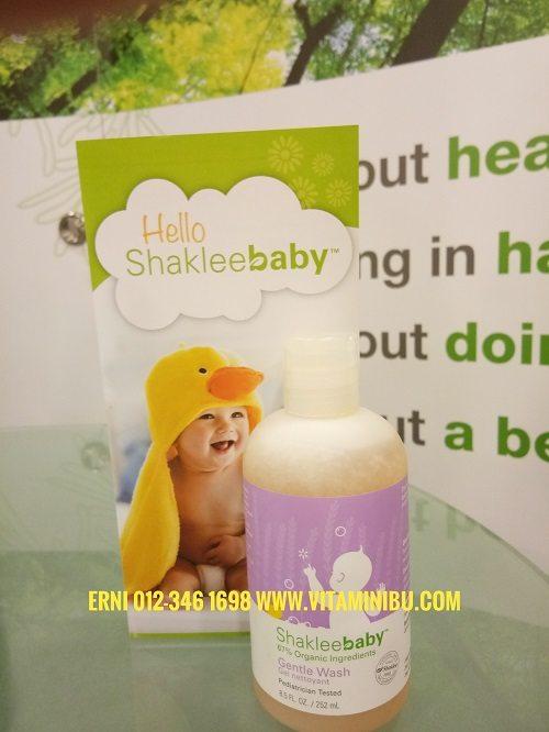 ShakleeBaby -Shaklee Baby - Set Penjagaan Bayi Terbaik - Bebas Bahan Kimia Berbahaya - ShakleeBaby Gentle Wash