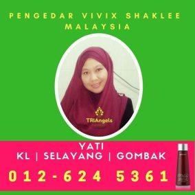 Pengedar Shaklee / Pengedar Vivix Shaklee Kuala Lumpur, KLCC, Selayang, Batu Caves & Gombak
