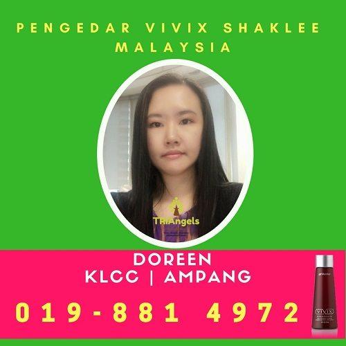 Pengedar Shaklee Kuala Lumpur - Pengedar Vivix Shaklee KL - Agen Vivix Shaklee KL - Pengedar Vivix Shaklee Ampang