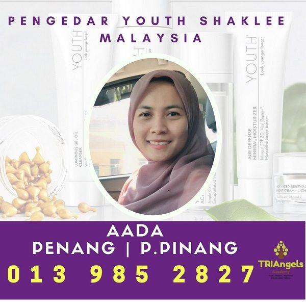 Pengedar Shaklee Youth Penang - Agen Youth Shaklee Skincare Penang