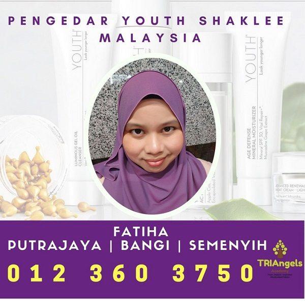 Pengedar Youth Shaklee Putrajaya, Cyberjaya, Semenyih, Bangi - Agen Youth Putrajaya, Bangi