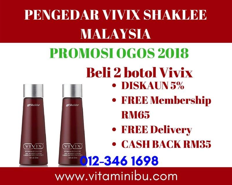 Harga Vivix Shaklee - Promosi Vivix Shaklee - Harga Vivix Shaklee Murah - Vivix Shaklee - Pengedar Vivix Shaklee - Agen Vivix Shaklee - COD Vivix Shaklee