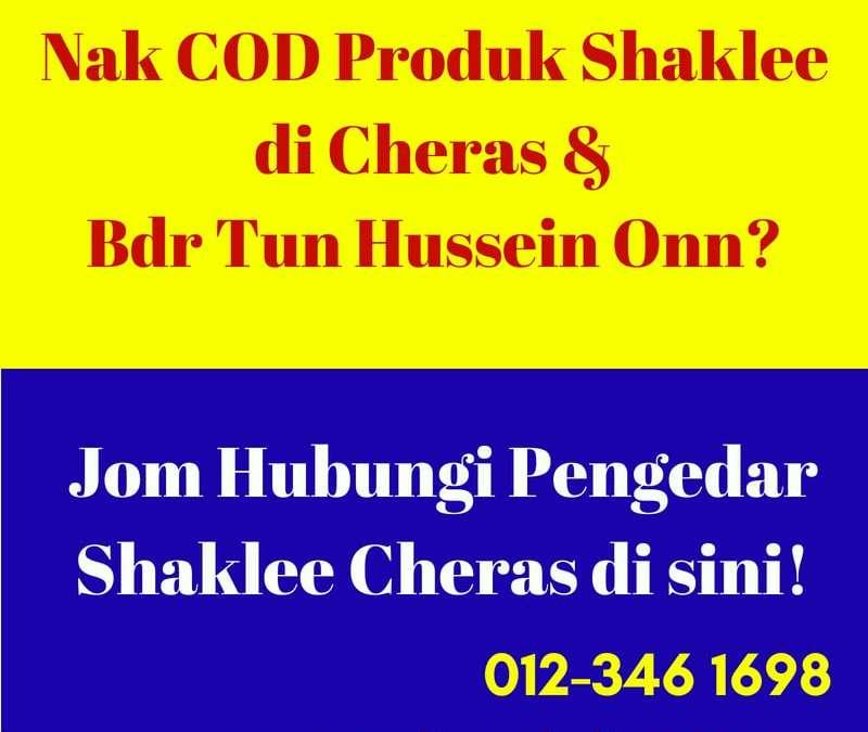Pengedar Shaklee Cheras, Bandar Tun Hussein Onn Dan Agen Vivix Shaklee