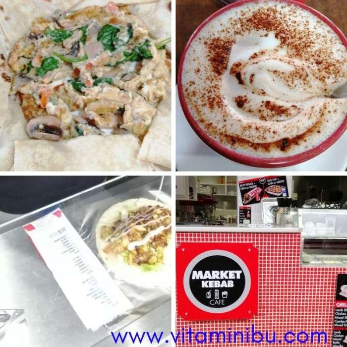 Bajet Percutian Ke Melbourne Dengan Anak Kecil - Lunch di Queen Victoria Market