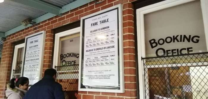 Bercuti Ke Melbourne - Ticket Puffing Billy - Tiket Keretapi Wap
