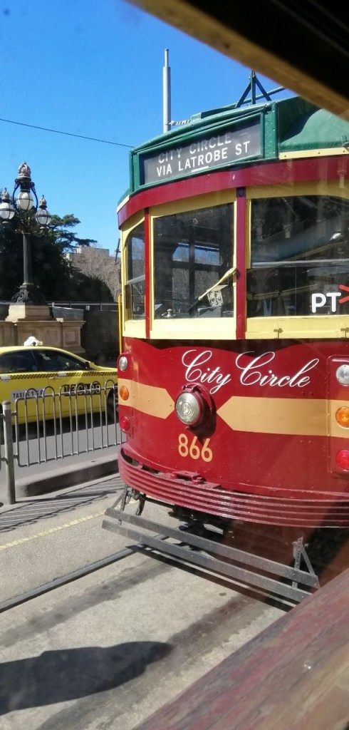 Ni la rupa City Circle Tram tu :)