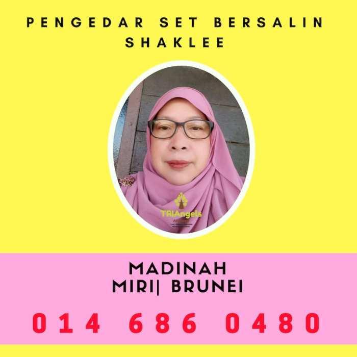 Pengedar Set Bersalin Shaklee Miri - Agen Set Bersalin Shaklee Brunei