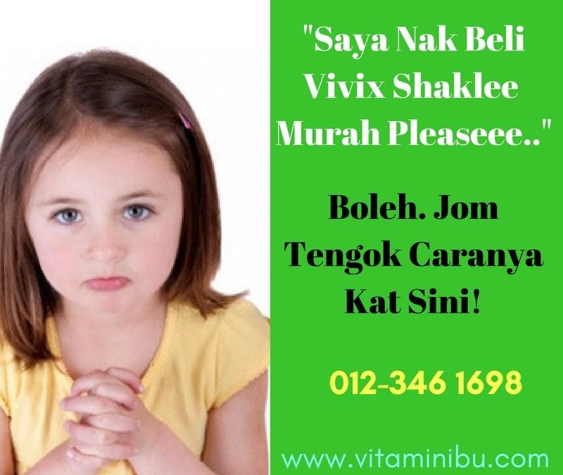 Harga Vivix Shaklee Murah – Beli Vivix Harga Promosi Dari Agen Vivix Shaklee Atau Shaklee HQ