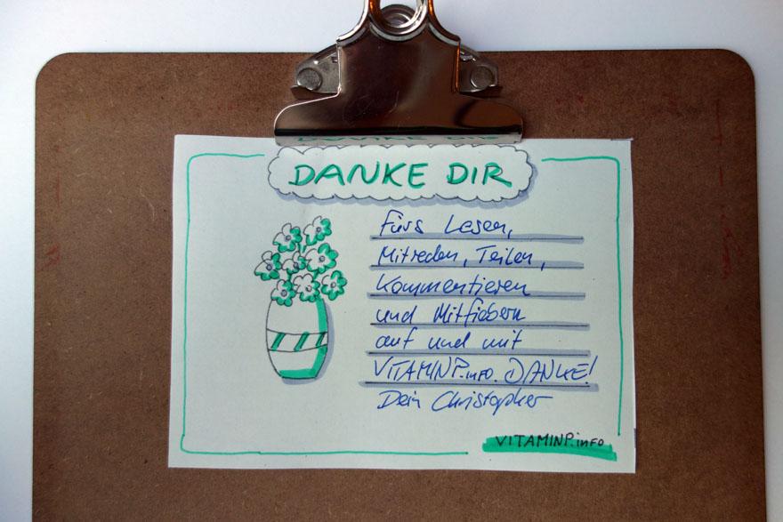 einfach mal danke sagen - kudo-karte - example3 VITAMINP.info