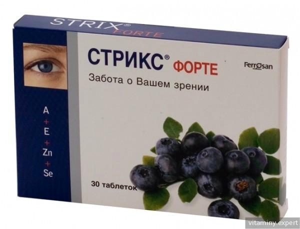 striks látási tabletták