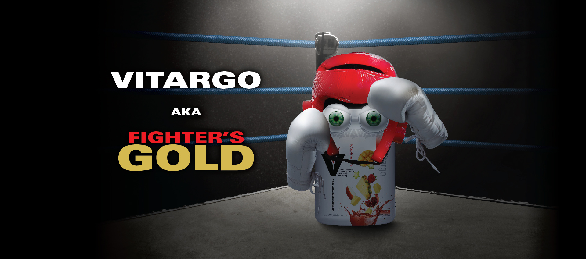 Vitargo Fighters GOLD muscle recovery