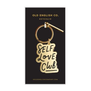 Self love keyring