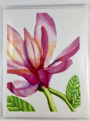 Magnolia Greeting Card Front