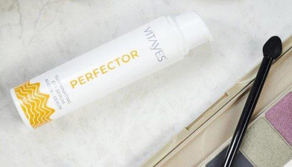PERFECTOR siero giorno illuminante, trattamento contorno occhi e anti rughe, antiage, ripristina l'elasticità della cute
