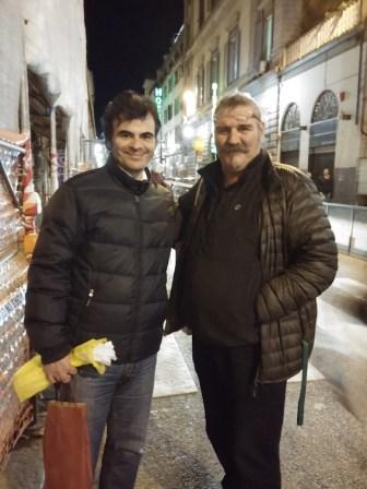 Era presente anche Stelios Tsoukas di S.Gabriele arcangelo (CUCCUVAIA)