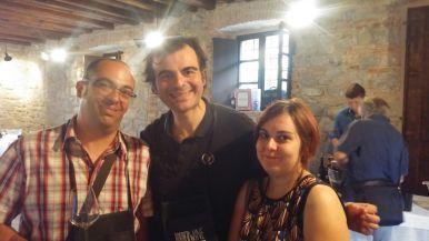 Con Marco Baldan e Laura Persico