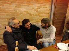 Con Nico Speranza (Vittorini) ed Enrico Bartoletti (Maria Pia Castelli)