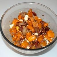 Salade d'automne butternut et échalotes rôties - Passe plat entre amis #11