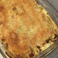 Lasagne de Ravioles du Dauphiné aux poireaux
