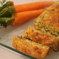 Cake moelleux carottes et fanes - Recette autour d'un ingrédient #26
