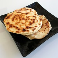 Naans au fromage - cheese naans