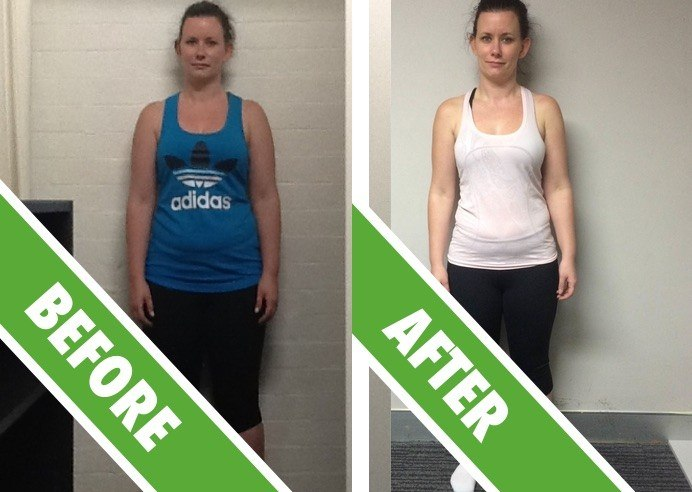 Personal Training Sydney - Fat Loss Client Kelly