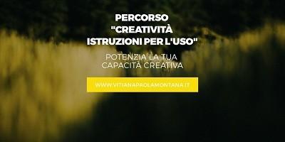 percorso creatività istruzoni per l uso