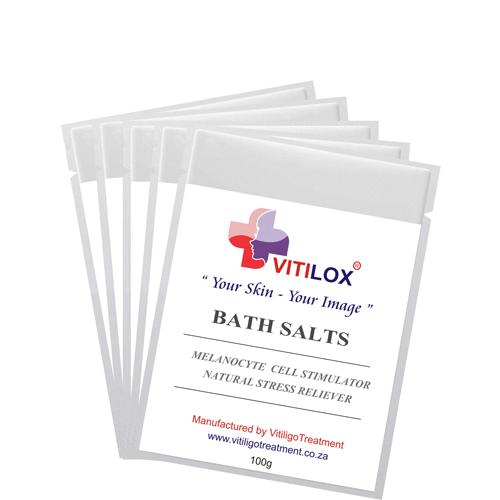 Vitilox® Bath Salts to Relieve Stress