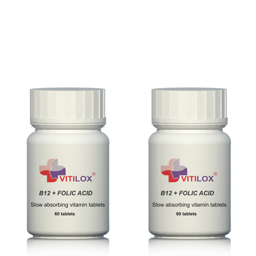 Vitilox® Vitamins B12 & Folic Acid - 2 pack - 120 tablets