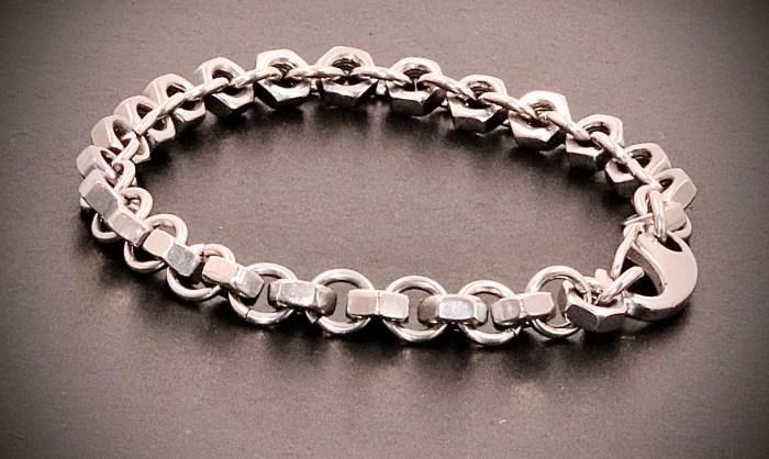 bracelet écrous