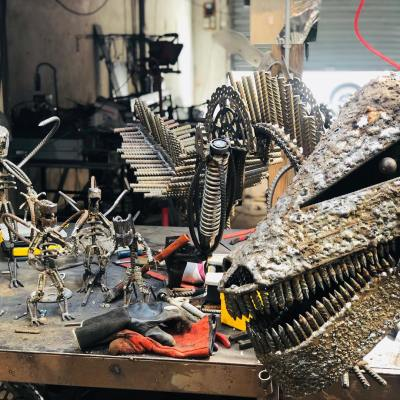 dinosaure sculpture vito