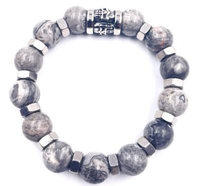 Bracelet Rock Jaspe vitoartmetal
