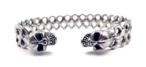 Bracelet jonc acier inoxydable Vito art Métal