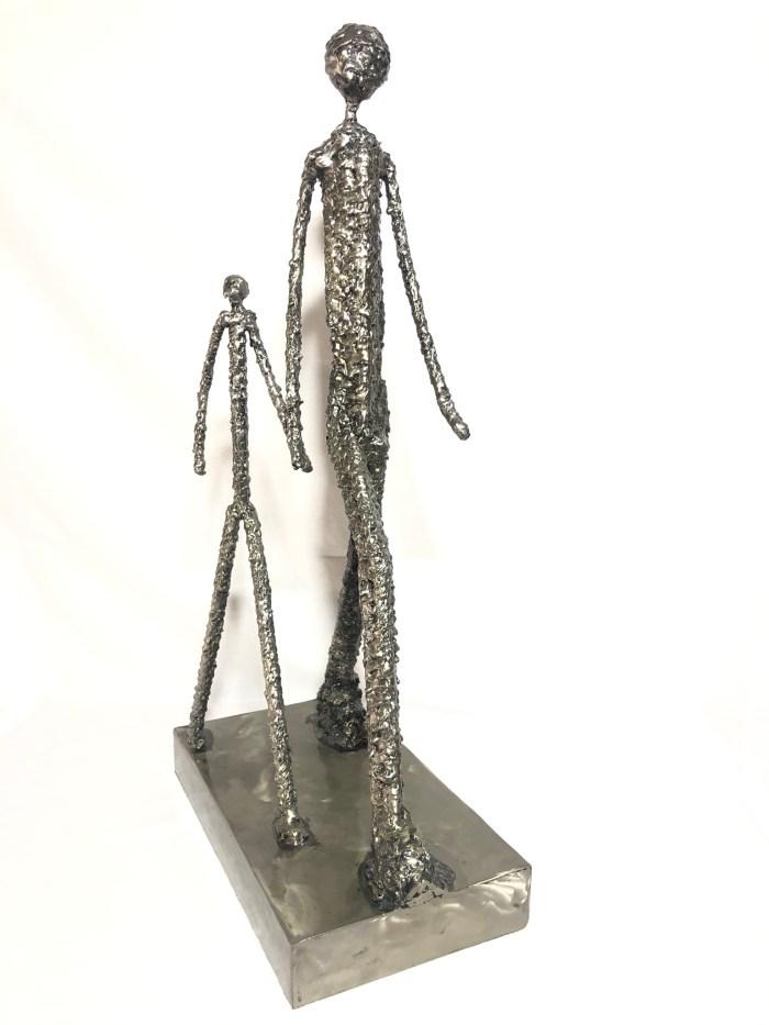 sculpture en metal vito Art Métal
