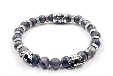 Bracelet Rock écrou Labradorite vitoartmetal