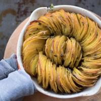 Pieczone ziemniaki z szałwią
